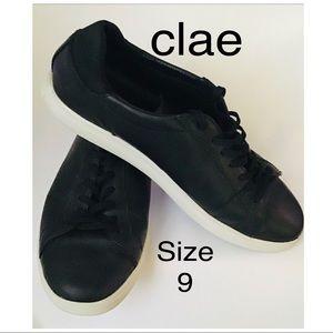 Clae Shoes - CLAE Bradley Black Leather